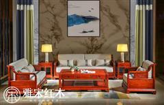 新中式軟體沙發6件套