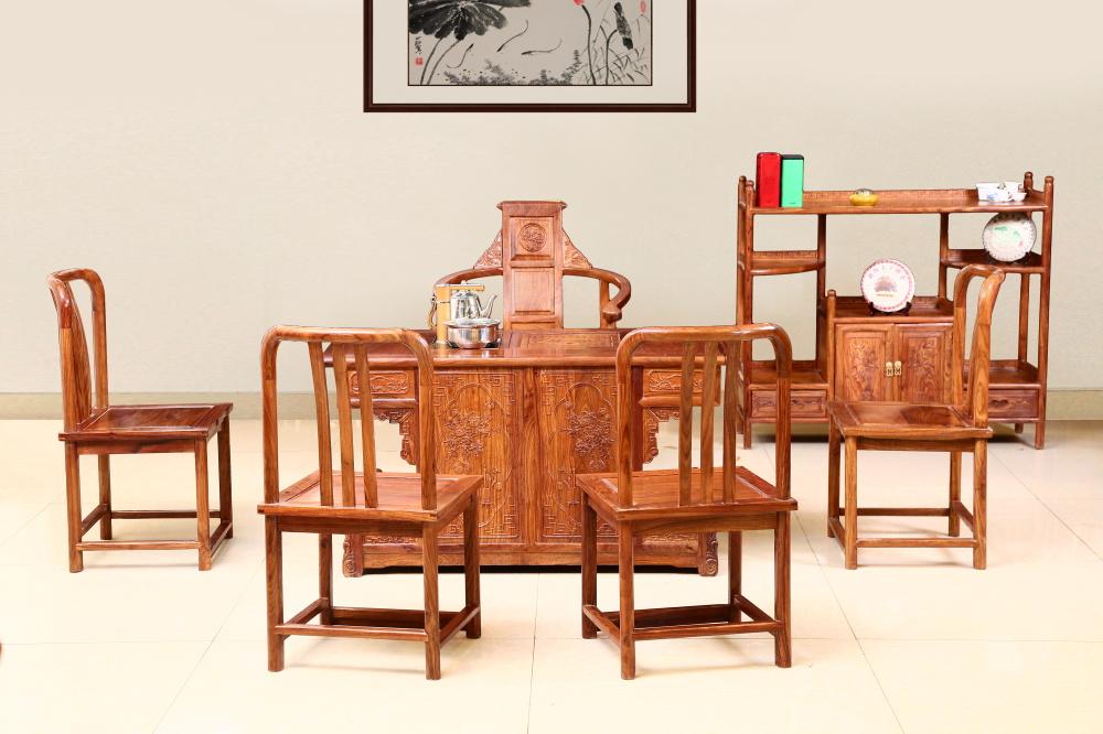 刺猬紫檀 小罗马茶台