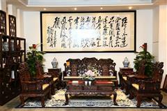 鸿庭轩红木:红酸枝  沙发10件套