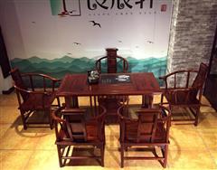 东非酸枝  1.53米新古典茶台