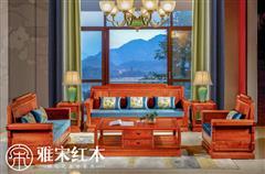 春下硬座沙发(1+1+3)6件套