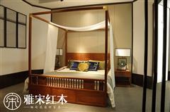 新中式架子床