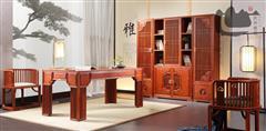 君尚组合书柜-君尚180书台-国寿椅