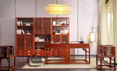 明轩上开门书架-明轩下开门书架-明轩168书台-国寿椅