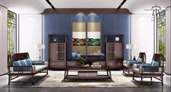新中式客厅系列