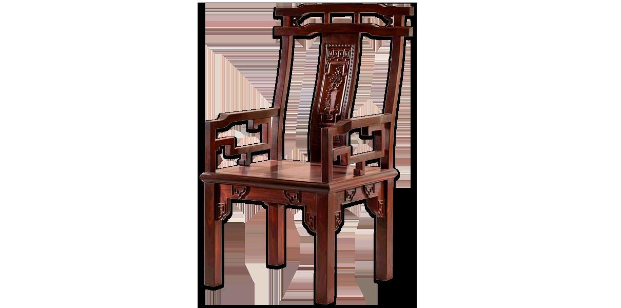 百鸟朝凤餐椅