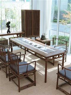 新中式茶桌椅HL-904