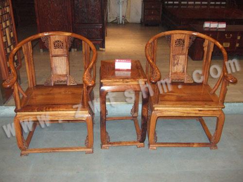 越南黄花梨木皇宫椅