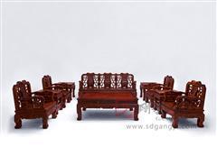 红酸枝万寿沙发