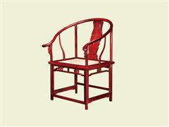 蝠磬纹圈椅