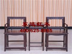 1646型玫瑰两椅几