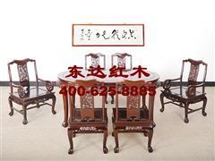 1720A型雕龙餐台椅