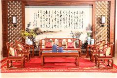 富宝轩皇宫椅沙发独板A51