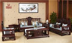 东非酸枝团圆新中式沙发6件套