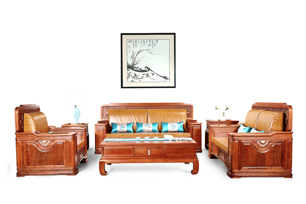 明堂红木富贵东方沙发