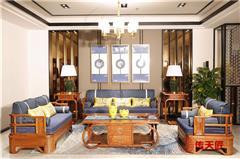 传天匠红木刺猬紫檀至善沙发
