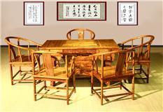非洲花梨  虎脚茶台六件套