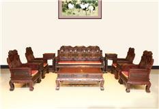 东非红酸枝  新富豪沙发  10件套