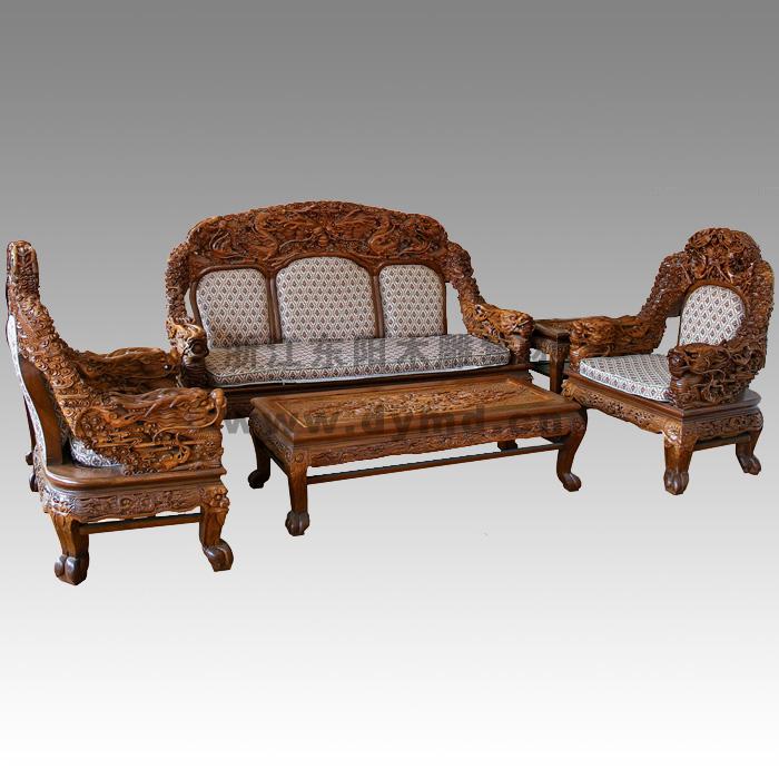 wx102红木家具(东阳木雕集团)