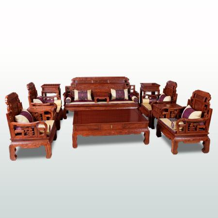 瑶台仙境沙发11件套(新明)