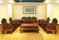 非洲酸枝 福禄寿沙发11件套客厅沙发