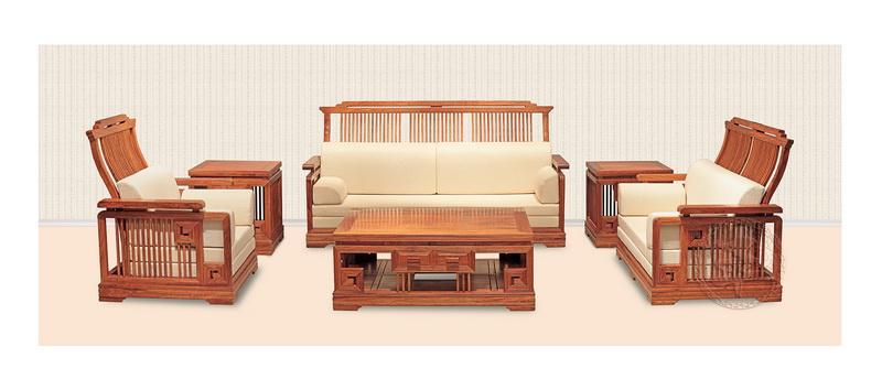红木云 客厅系列 >>新中式沙发