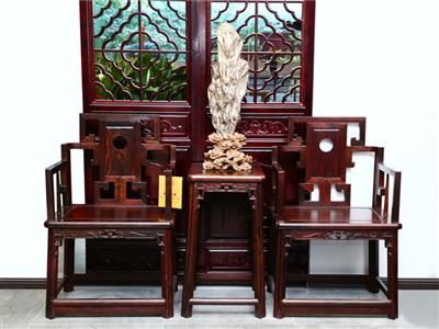 鸿庭轩:椅子