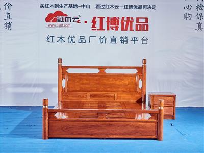 1.8米圆柱大床 2件套