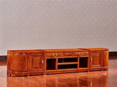 2.2米三组合地柜电视柜 1个
