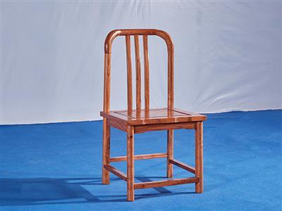 刺猬紫檀梳背椅
