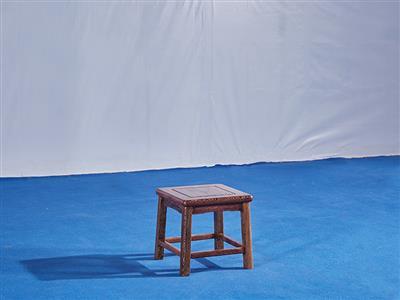 鸡翅木四方凳